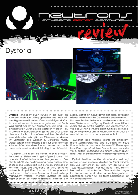 Dystoria_Review